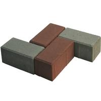 Плитка тротуарная 210х105х80 мм красная