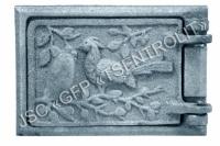 Дверка топочная ДТ-2А, ОС150, 190х130 мм, вес 2,3 кг