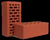 Кирпич керамический рядовой пустотелый утолщенный КРПУ-150 250х120х88