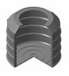 Полимерно-песчаный колодец (кольцо, днище, конусный переходник)